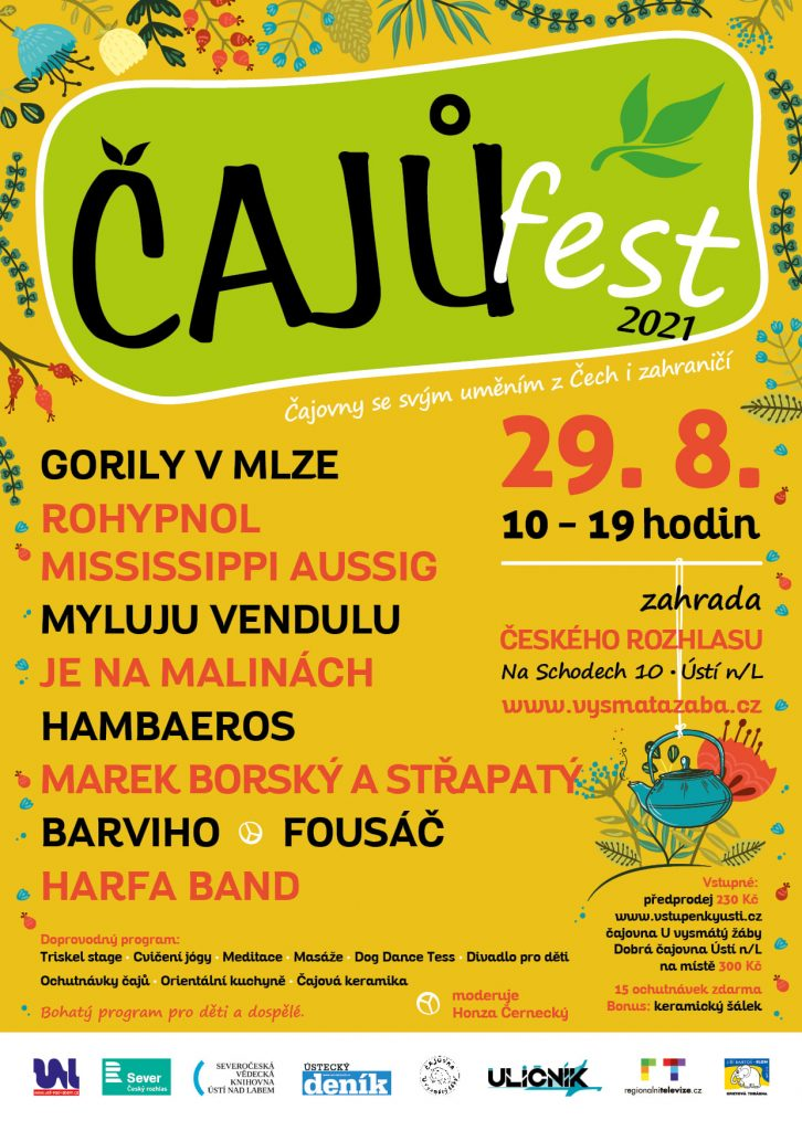 Čajů Fest 2021, Ústí n. Labem @ Český rozhlas Sever